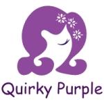 Quirky Purple Logo